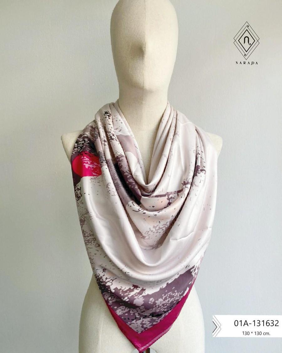 ผ้าพันคอ ผ้าคลุมไหล่ผืนใหญ่ - 01A-131632