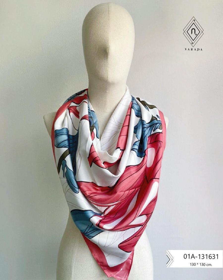 ผ้าพันคอ ผ้าคลุมไหล่ผืนใหญ่  01A-131631