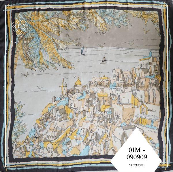 ผ้าพันคอ ขนาด M01M-090909