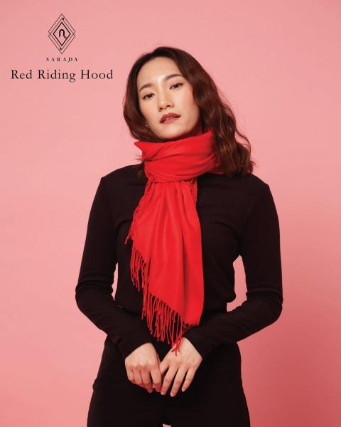 ผ้าพันคอแคชเมียร์ Red Riding Hood
