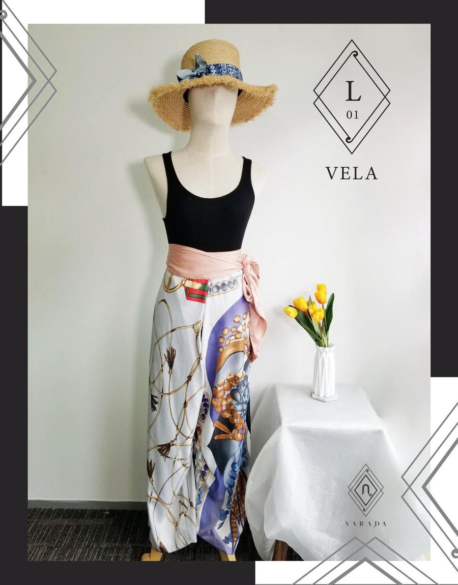 กางเกงผ้า Vela by Narada L01