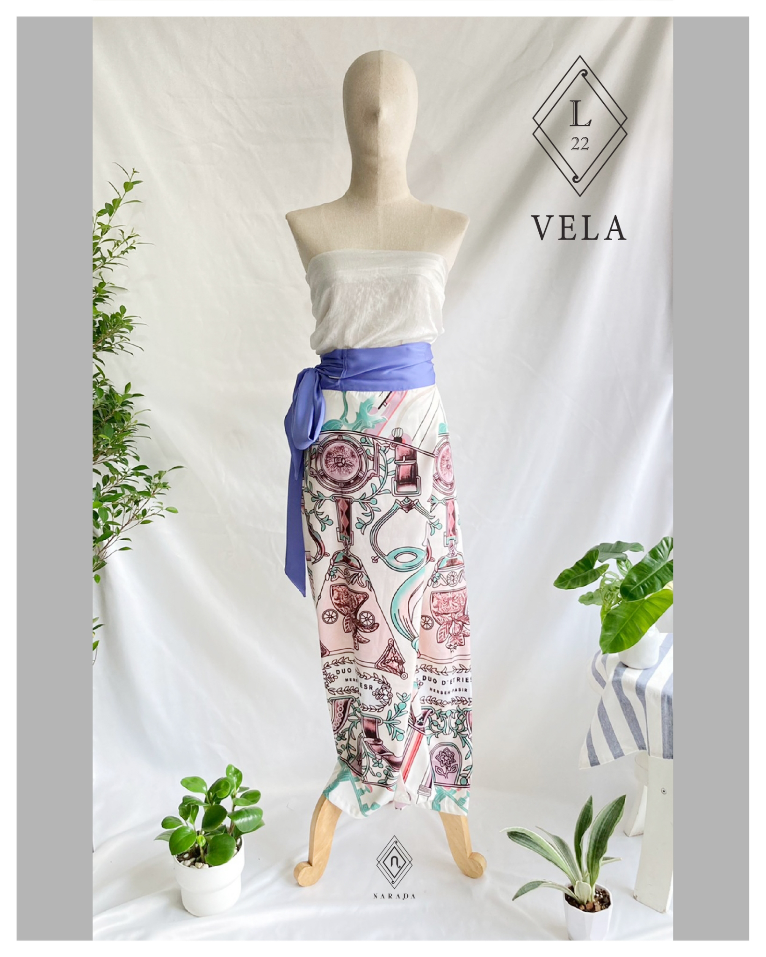กางเกงผ้า Vela by Narada L22