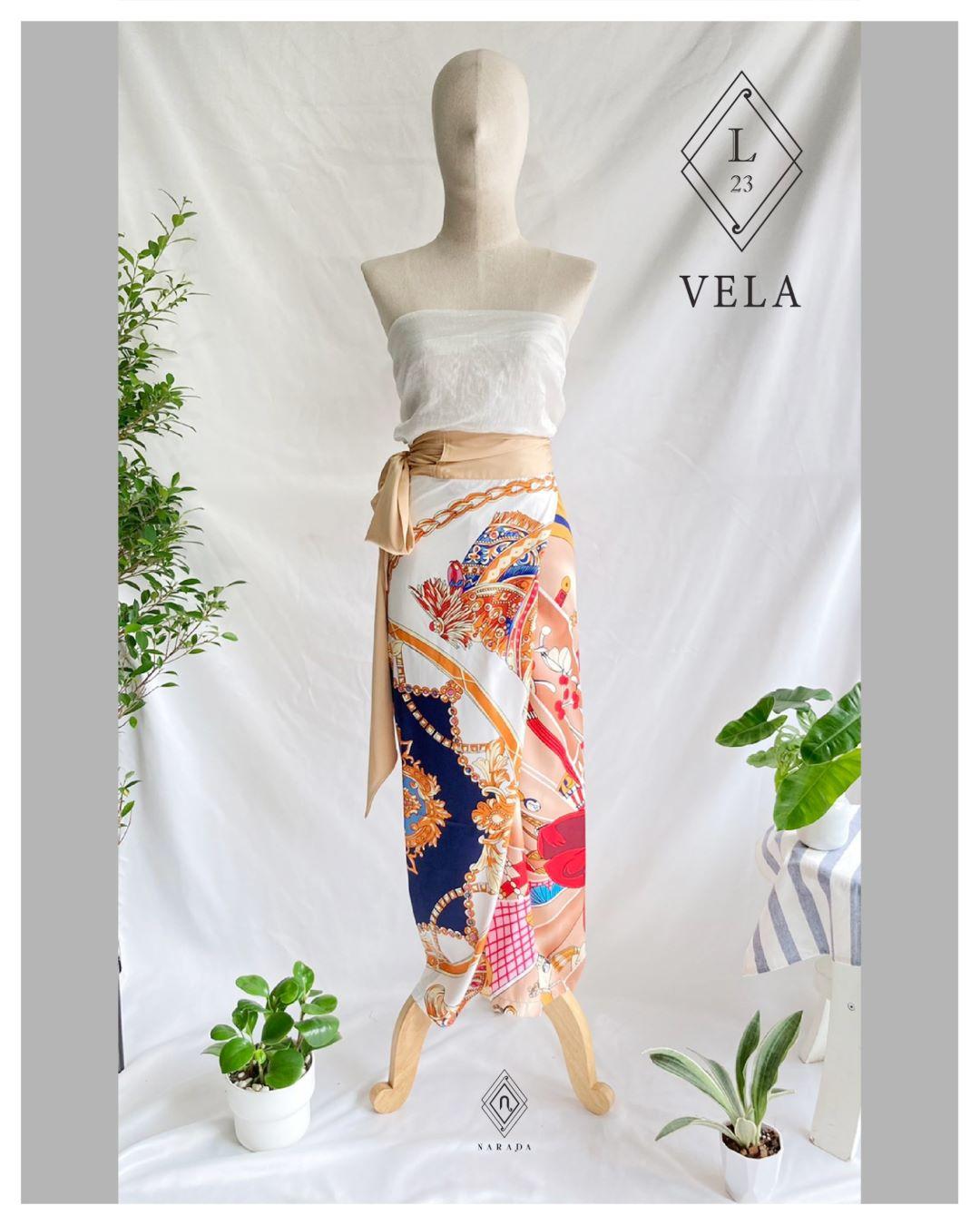 กางเกงผ้า Vela by Narada L23