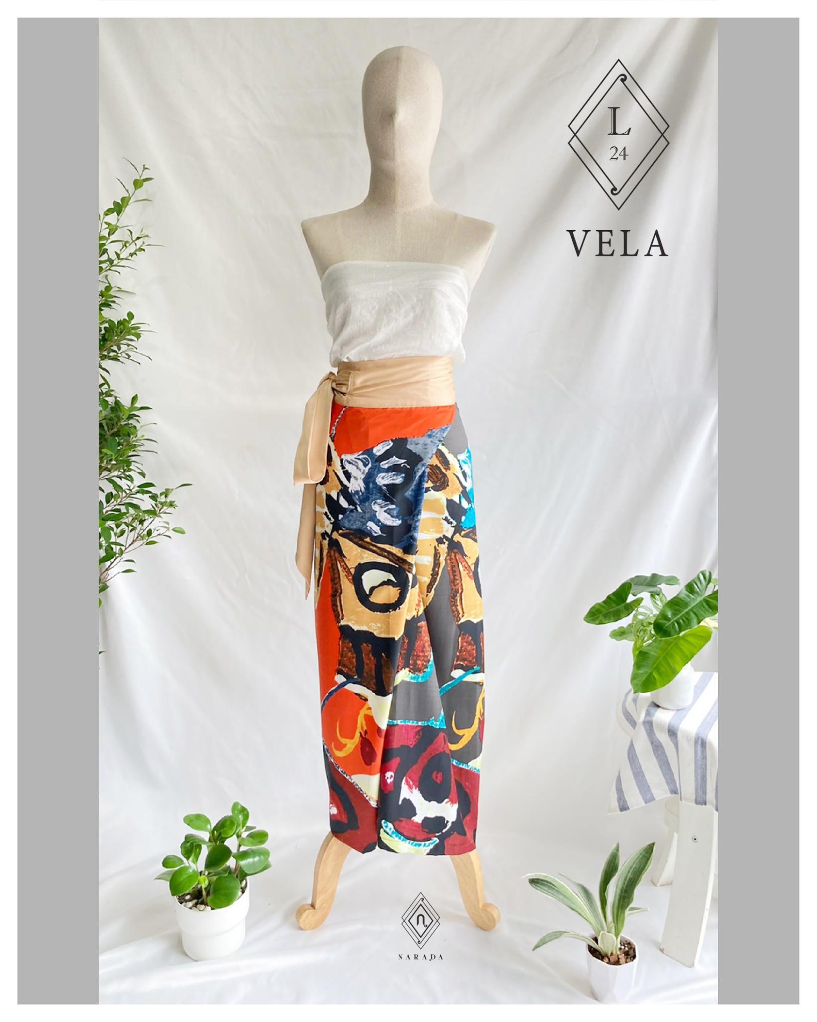 กางเกงผ้า Vela by Narada L24