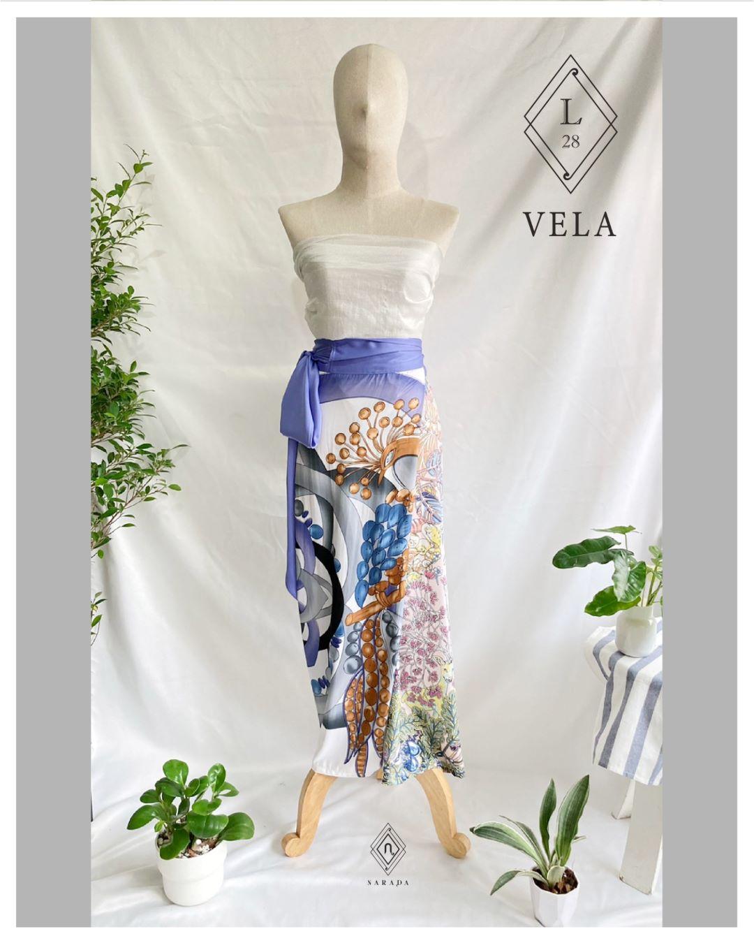 กางเกงผ้า Vela by Narada L28